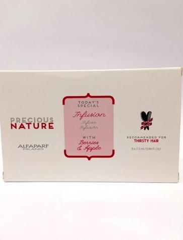 Alfaparf Precious Nature Infusion Capelli Secchi e Disidratati 6x13 ml