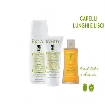 Alfaparf Kit Precious Nature Capelli Lunghi e Lisci Kit
