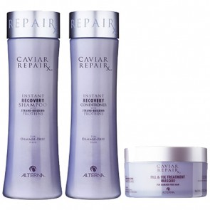 Alterna Caviar Instant Recovery Shampoo+Conditioner+Masque